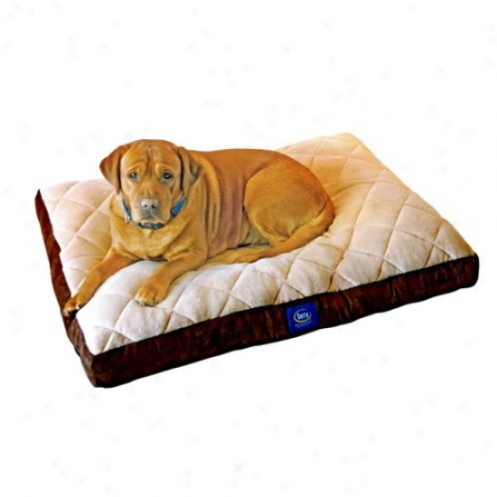 Serta Gentle Pillowtop Pet Bed