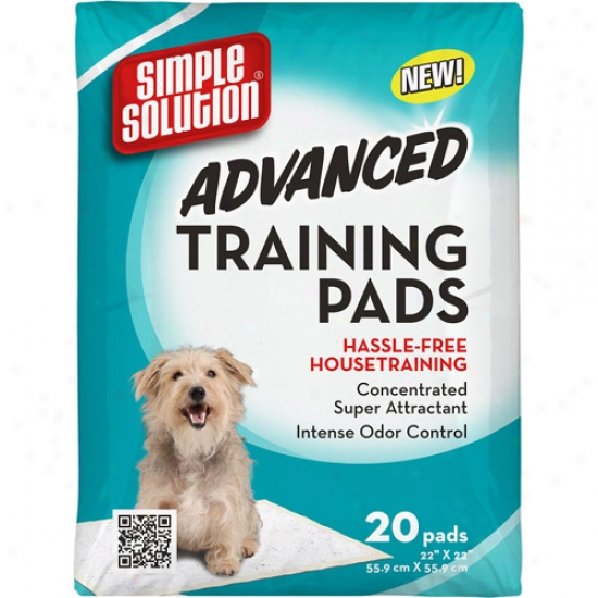 Simple Solution Advanced Training Pads, 20ct