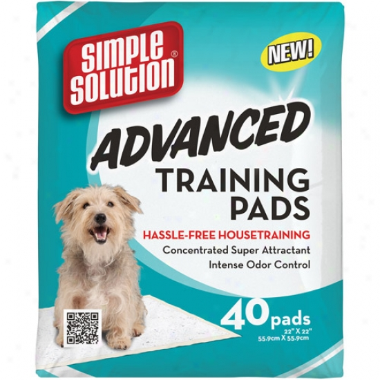 Simple Solution Advanced Training Pads, 40ct