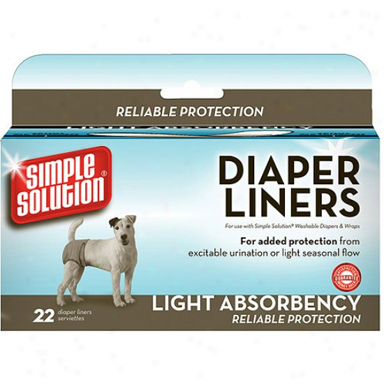Simple Solution Diaper Liners, 22ct