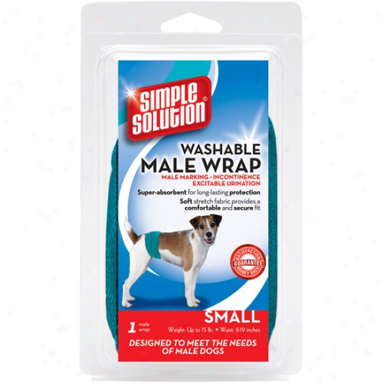 Simple Disintegration Washable Male Dog Wrap, Feeble