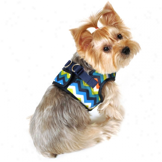 Simplydog Cheveon Dog Body Tackling, Navy