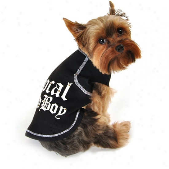 """Simplydog """"local Bad Boy&qyot; Raglan Shirt For Dogs, (multiple Sizes Available)"""