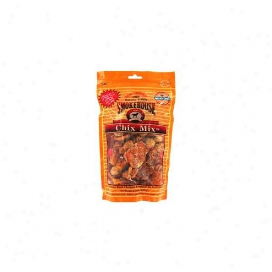 Smokehouse Pet Products 8 Oz Chixx Mix Dog Treats  85414