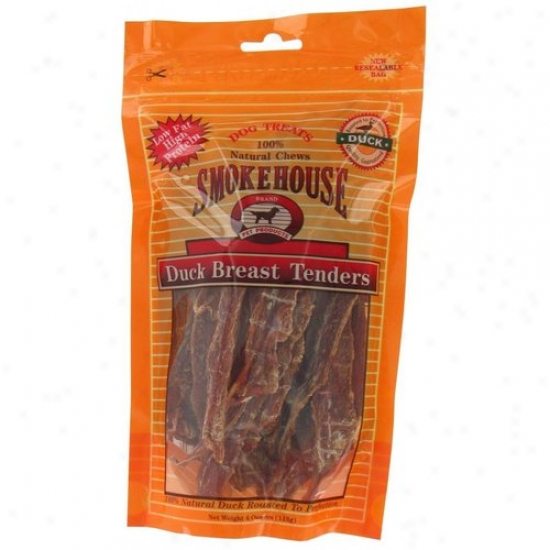 Smokehouse Pet Products 84285 4 Oz Duck Breast Tenders