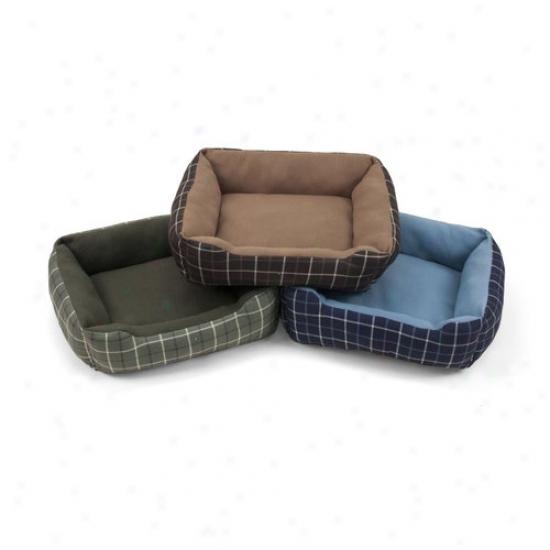 """Soft Spot Rectangle Cuddler Pet Bed, 19""""wx15""""d"""