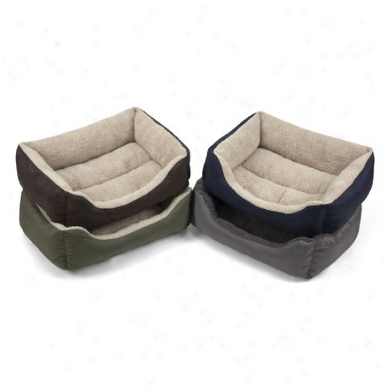 "Soft Spot Small Lounger Pet Bed, 21""wx17""d, 1ct (Redden Will Vary)"