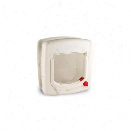 Staywell Products Ppa00-11325 Cat Flap 4Space White