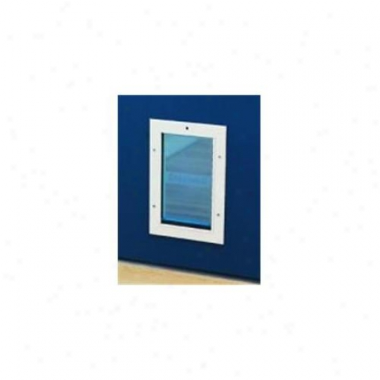 Staywell S-600 Aluminum Dog Door Through  Carelessness Panel - Small