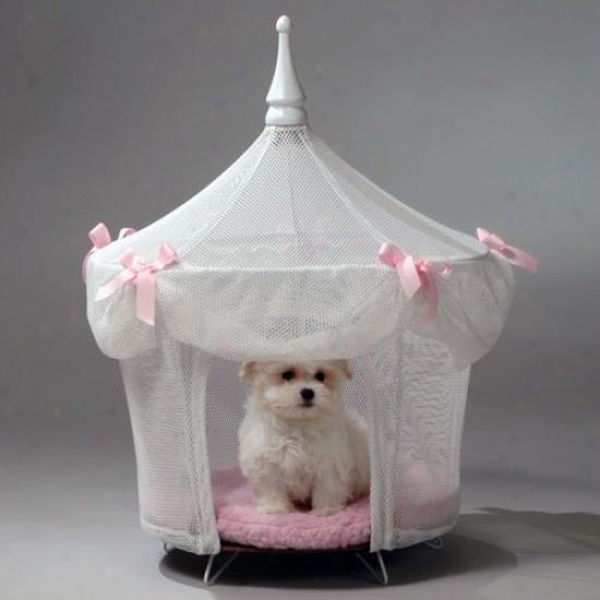 Sugarplum Princess Pet Tent