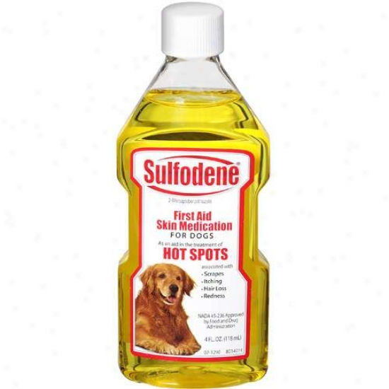 Sulfodene First Aid Peel Medication For Dogs, 4 Oz