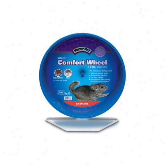 Super Pet Comfort Giant Exercies Chinchilla  Wheel