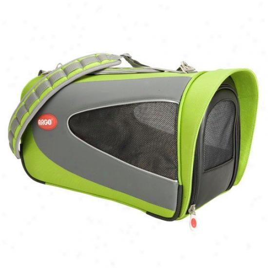 Teafco Argo Petascope Pet Carrier In Green