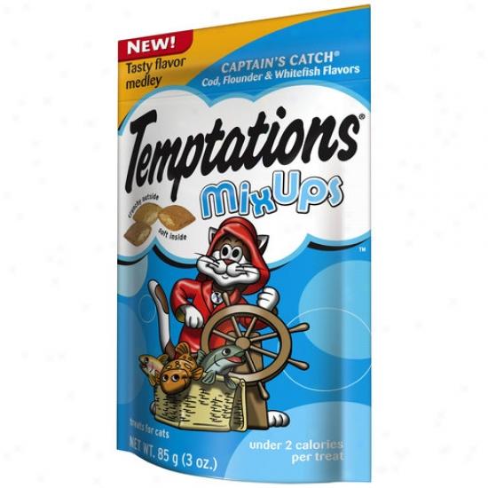 Temptations Mix Ups Captain's Catch Treats For Cats, 3 Oz
