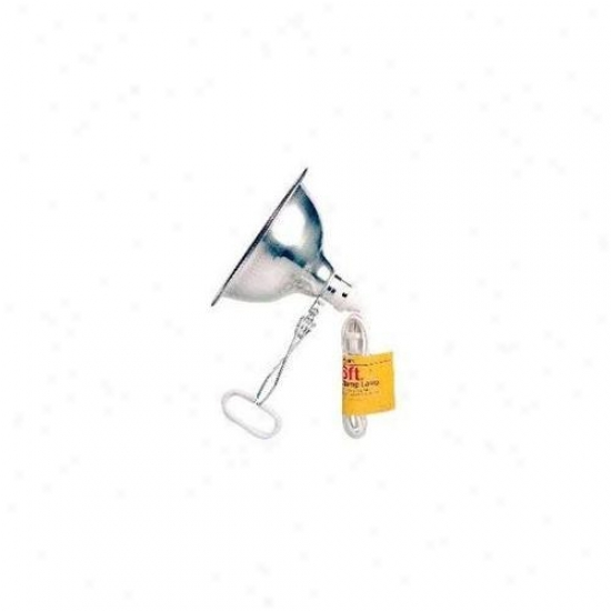 Trans Usa Products Stn34106 Clamp Lamp With 8. 5 Inch Reflector-packaged Ul Listed