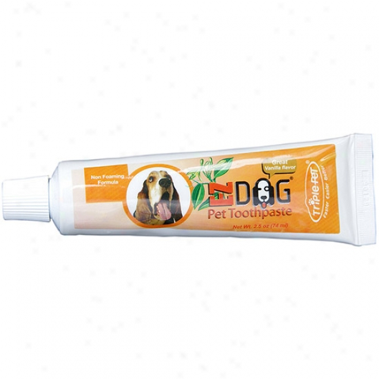 Triple Pet Pp12dspmc Ezdog Toothpaste For Dogs  Cats And Other Animals