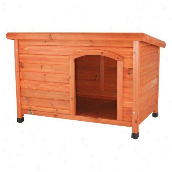 Trixie Natura Flat Roof Dog House