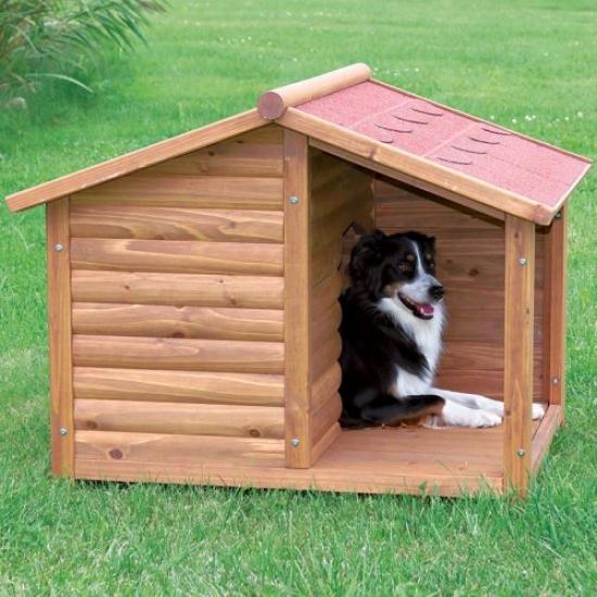 Trixie Natura Log Hut Dog Habitation