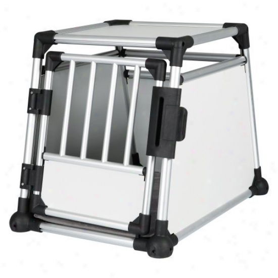 Trixie Pet Products Friends On Tour Metallic Dog Crate