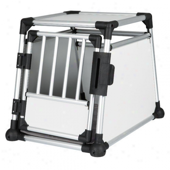 Trixie Pet Products Scratch-resistant Metallic Crate