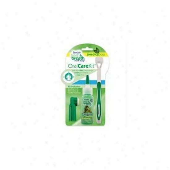 Tropiclean - Fresh Breath Oral Care Kit Medium-large - 001299