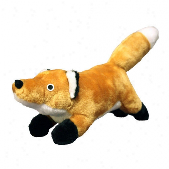 Tuffy's Pet Products Mighty Junior Natude Fox Dog Toy