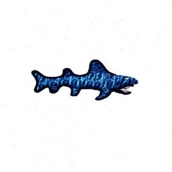 Tuffy's Pet Products Shack Shark Dog Toy