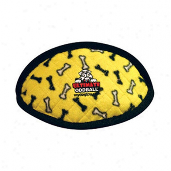 Tuffy's Pet Products Tuffy's Dog Trifle Ultimate Odd Ball - Yellow