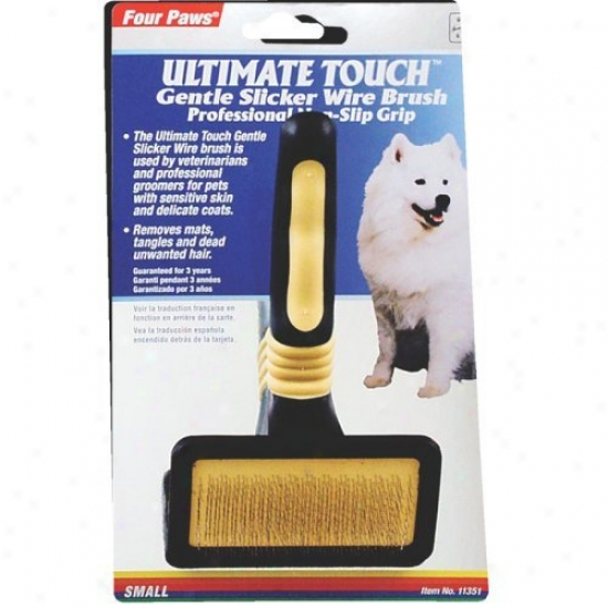 Ultimate Test Gentle Slicker Telegraph Brush
