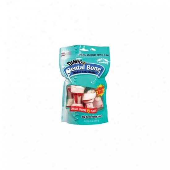 United Pet Group - Dingo - Dental Vp Treat Small-6 Compress - P26017