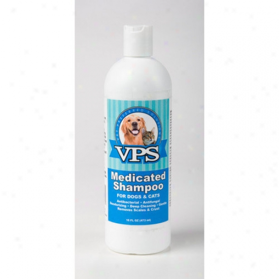 Vet Preferred Solutiohs Pet Medicated Shampoo With Chloroxylenol