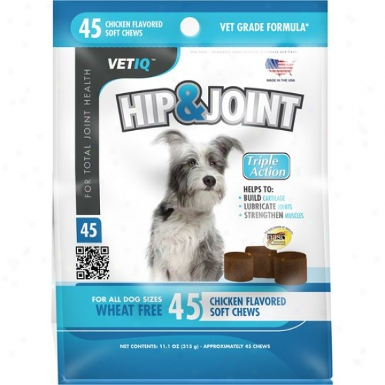 Vetiq Hip And J0int Soft Chews, 45-count