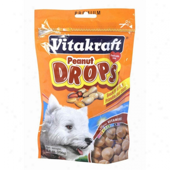 Vitakraft 2.5'' Peanut Drops For Dog Treat