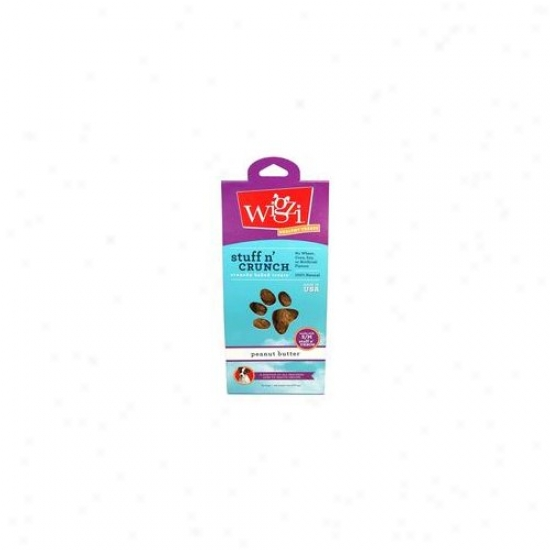 Wigzi Peanut Butter Flavor Dog Treat (6 Oz)