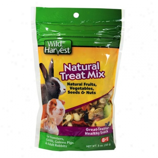 Wild Harvest Natural Treat Mix For Petty Animals, 3ct