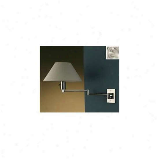 Wpt Design Imago Pared  - Bn Imago Pared - Swing Equip Sconce - Brushed Nickel