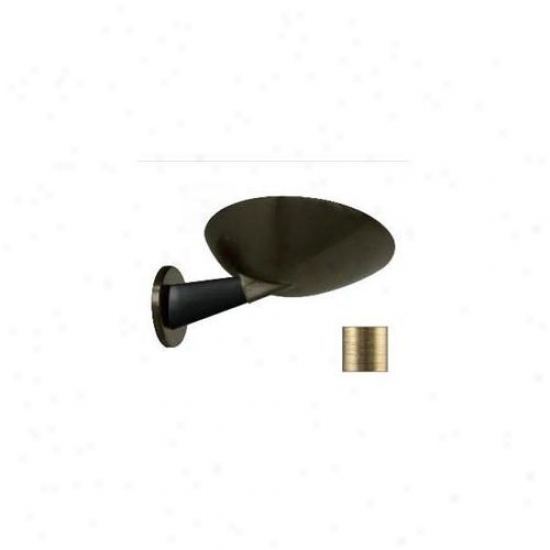 Wpt Design Millenium - Brbr - M Millenium Indirect Halogen Wall Skull - Mahogany-brushed Brass