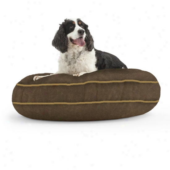 Wuffuf Round Pet Bed, 42&qout; Diameter