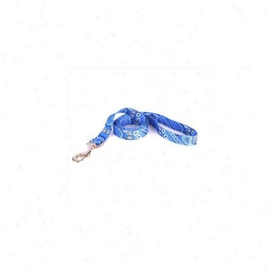 Yellow Dog Design Bb105ld 3/4 Inch X 60 Inch Bandana Blue Lead