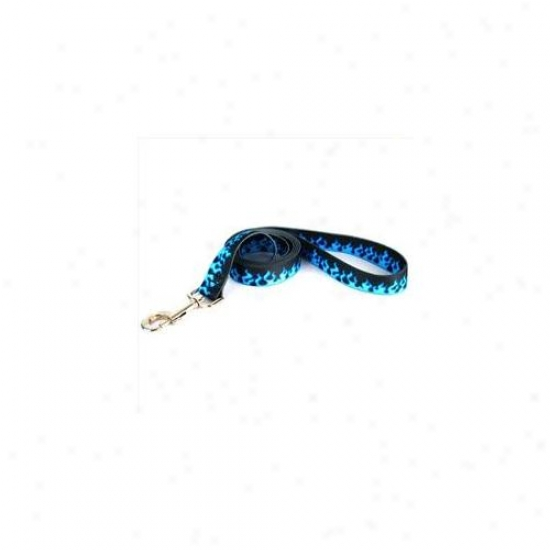 Yellow Dog Design Bf105ld 3/4 Inch X 6 0Inch Blue Flames Lead