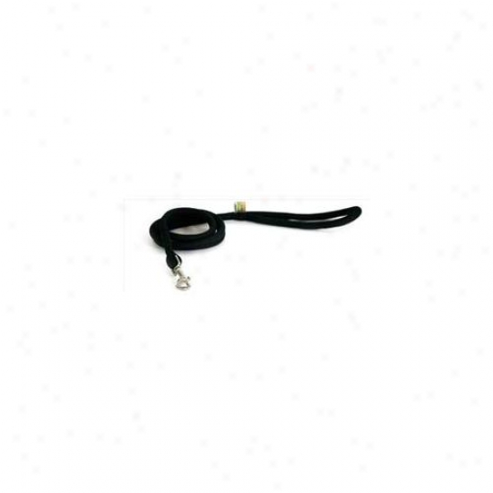 Yellow Dog Design Blk107ld 3/4 Inch X 60 Inch Black Round Braided Lead