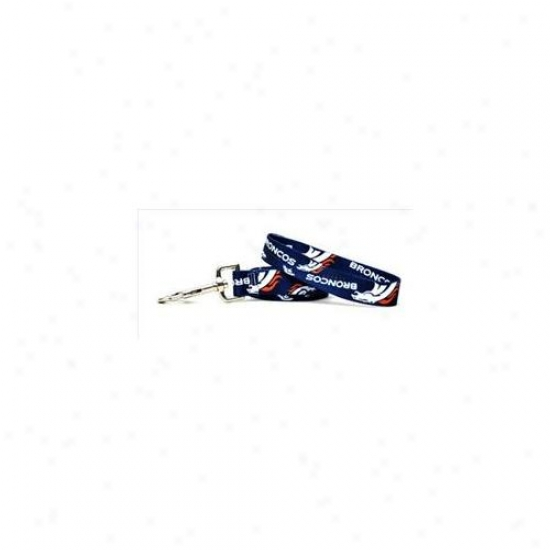 Yellow Dog Design Brnc106ld Denver Broncos Lead - 1 Inch X 60 Inch