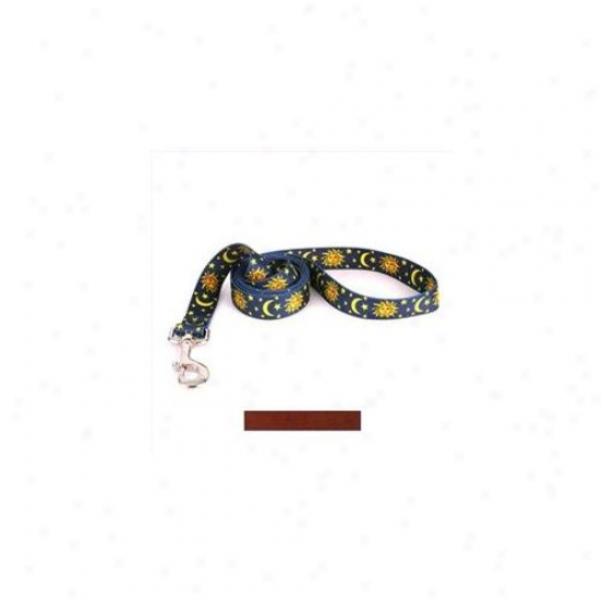 Yellow Dog Design Bwn106ld 1 Inch X 60 Inch Solid Brown Lead