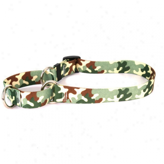 Yellow Dog Desitb Camo Martingale Collar