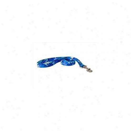 Yellow Dog Design Cbl105ld Camo Blue Lead - Small/mesium