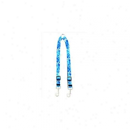 Golden Dog Design Cbl109 Camo Blue Coupler Lead - Medium