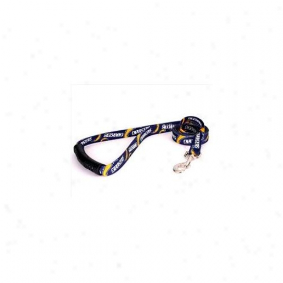 Yellow Dog Design Chrg106ld 1 Inch X 60 Inch San Di3go Chargers Lead