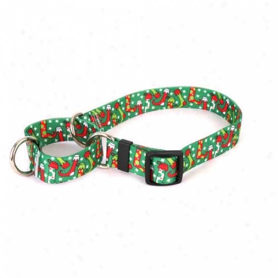 Yellow Dog Sketch Christmas Stockings Martingals Collar