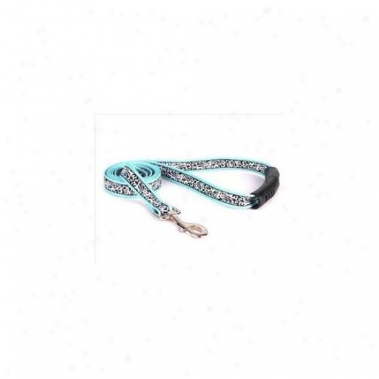 Yellow Dog Design Cht105ld-ez 3/4 Inch X 60 Inch Chantilly Teal Ez-lead