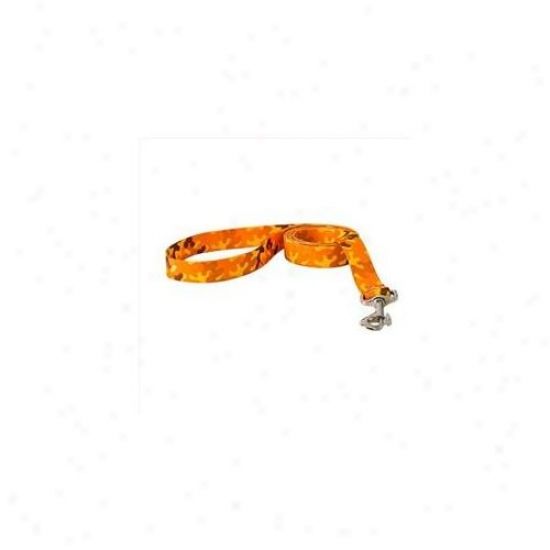 Yellow Dog Design Cmo106ld 1 Inch X 60 Inch Orange Camo Lead